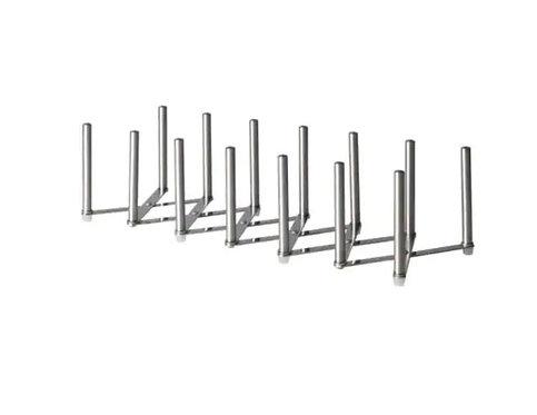 VARIERA Pot lid organiser, stainless steel – IKEA