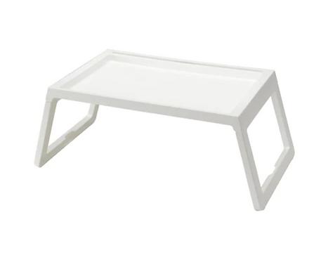 KLIPSK Bed Tray, White – IKEA