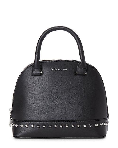 Women's Poppy Studded Dome Bag, Black by BCBGeneration