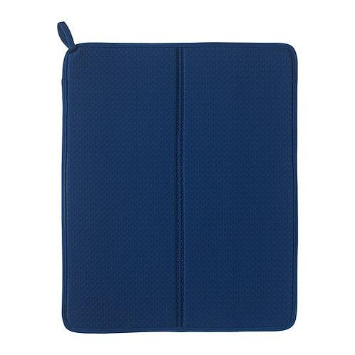 NYSKÖLJD Blue Dish Drying Mat – IKEA