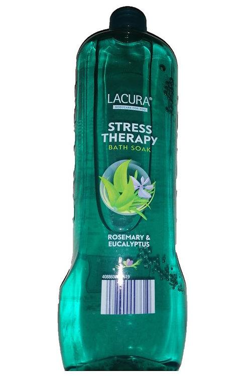 Bath Soak 750ml, Stress Therapy, Rosemary & Eucalyptus – Lacura
