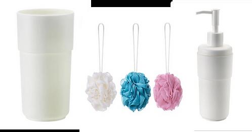 Bathroom Accessories 5-Piece Set – IKEA