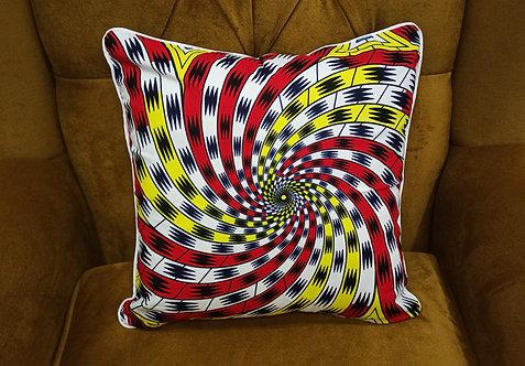OMO Ankara Cushion Cover, 40×40 cm by Debb's Home