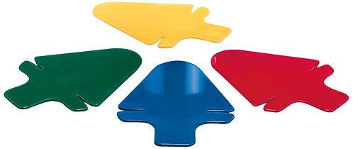 Tea Bag Holder, Blue/Green/Yellow/Red by GSD Haushaltsgeräte