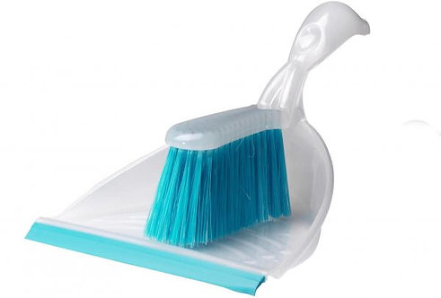 BLASKA Dust pan and brush, Blue – IKEA