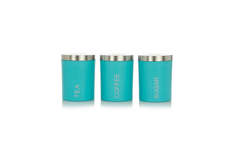 Turquoise Canister Set