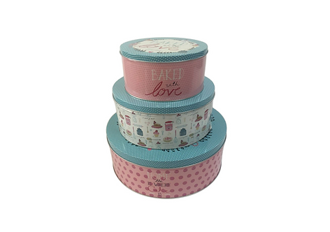 Cake Tins – Set of 3, George Home