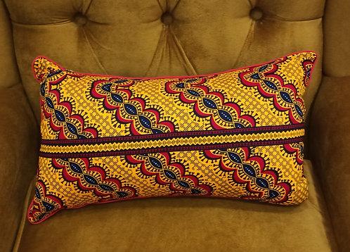 OLUMO Ankara Cushion Cover, 30×50 cm by Debb's Home