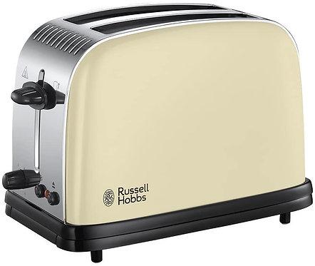 Russell Hobbs Colours Plus+ Classic Cream 2-Slice Toaster