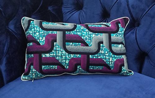 IDANRE Ankara Cushion Cover, 30×50 cm by Debb's Home