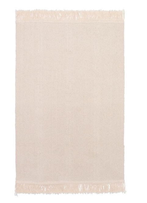 SORTSÖ Rug Flatwoven, Unbleached, 55 X 85 cm – IKEA