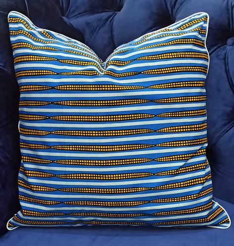 YANKARI Ankara Cushion Cover, 45×45 cm by Debb's Home
