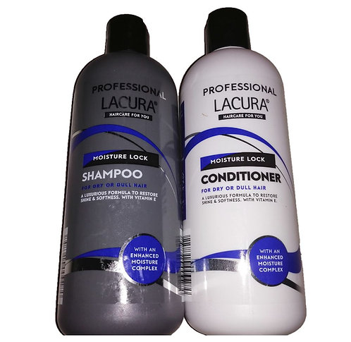 Professional Shampoo & Conditioner for Dry or Dull Hair – Lacura