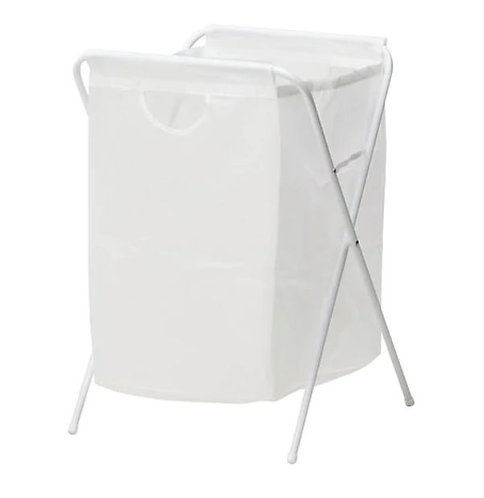 JÄLL Laundry Bag With Stand, White – IKEA