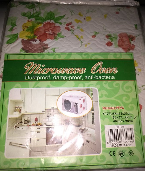 Flowery Fashionable Microwave and Dispenser Protective Cover