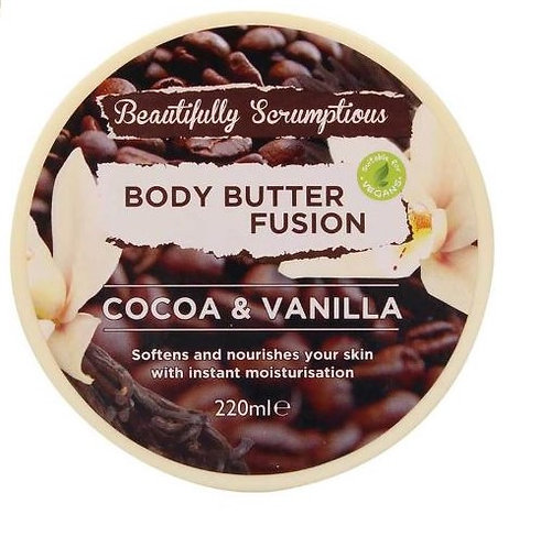Body Butter Cocoa & Vanilla 220ml – Beautifully Scrumptious