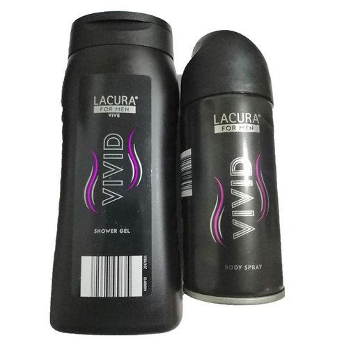Vivid body spray for Men – Lacura