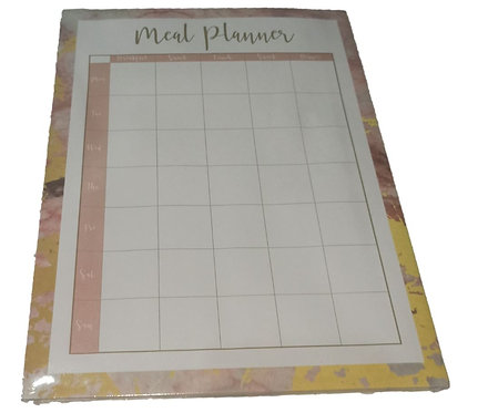 Rose-gold Tone Meal Planner