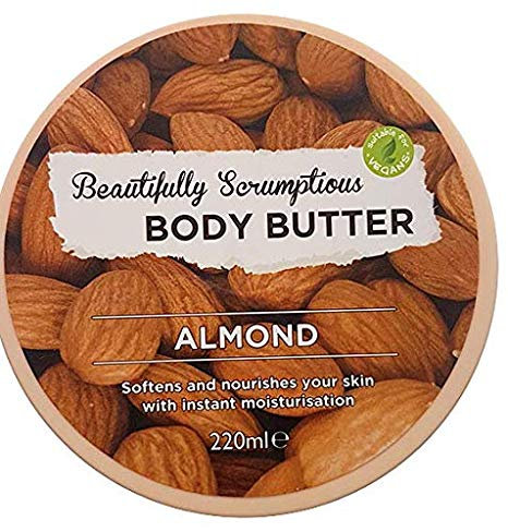 Body Butter Almond 220ml – Beautifully Scrumptious