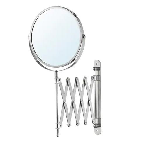 FRÄCK Stainless Steel Magnifying Mirror - IKEA