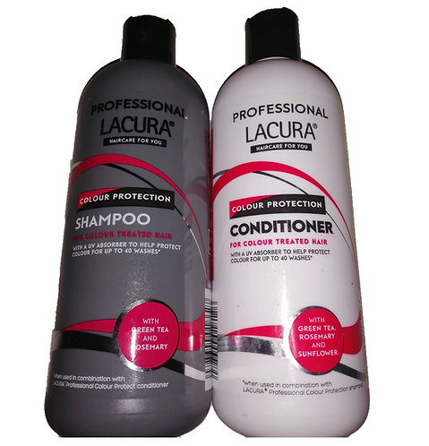 Professional Shampoo & Conditioner for colour Treated Hair – Lacura