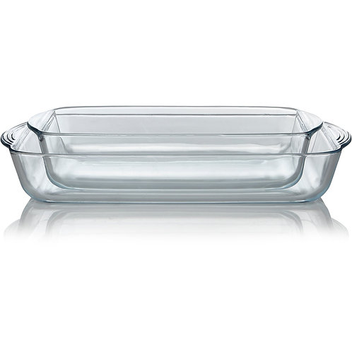 Glass Roaster – Set of 2, George Home