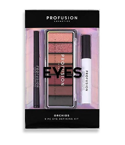 9 PC Eyes Defining Kit, Orchids – Profusion