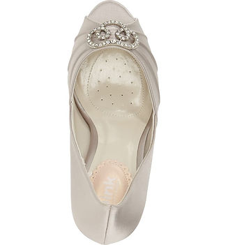 Lavish Embellished Platform Pump by Para