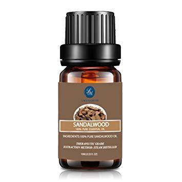 Sandalwood Aromatherapy 100% Essential Oils – (10 ml), Lagunamoon