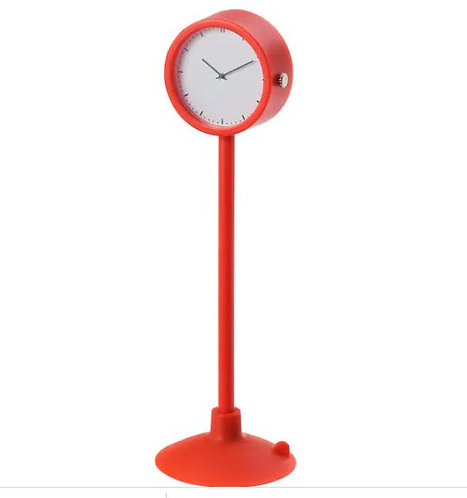 STAKIG Clock, Red, 16.5 cm - Ikea