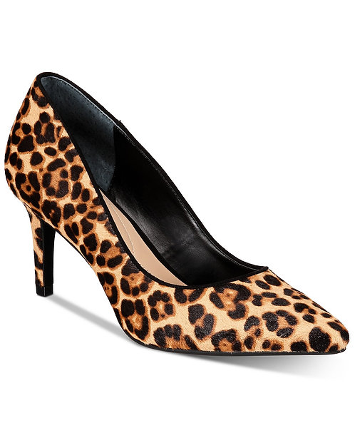 Women's Step 'N Flex Jeules Pumps US Size 5, New Leopard by Alfani