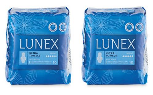 Ultra Night Towels/Pads, 20-Piece – Lunex