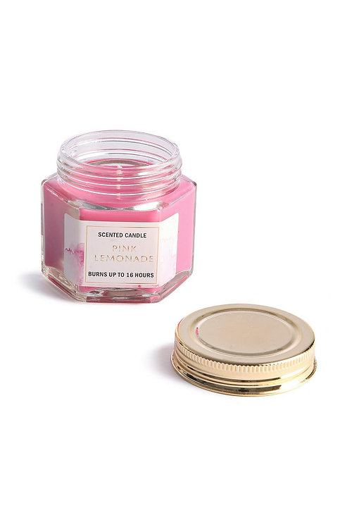 Pink Lemonade Jar Candle