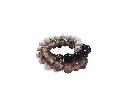 4 Nakpin Ring, White/Black/Dark Olive