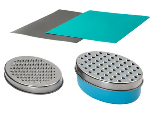 4-Piece Grater and 2-Piece Bendable Chopping Board Set – IKEA