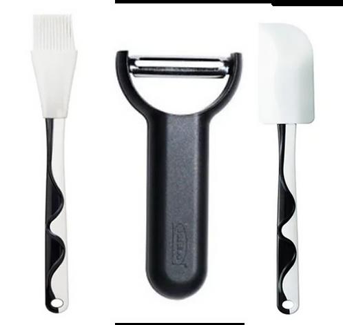 Kitchen Tools 3-Piece Combo, Black – IKEA