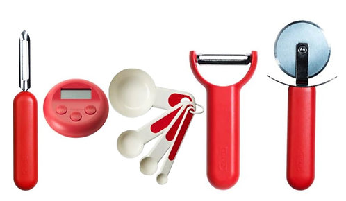 Kitchen Tools 5-Piece Combo, Red – IKEA