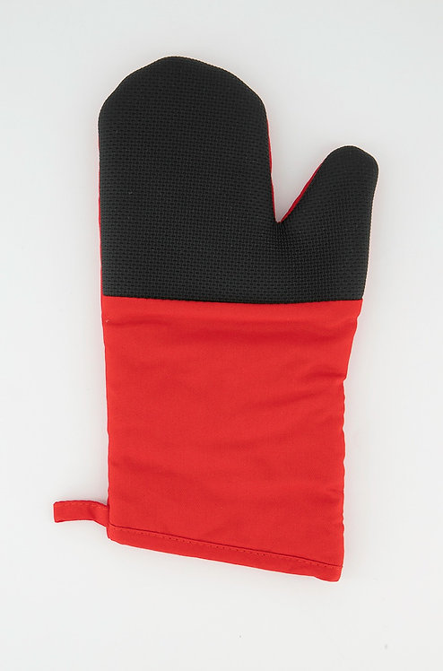 Oven Glove, Red/Black by YOTO