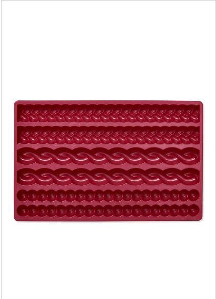 Dough Decoration Moulds, Dark Red – Tchibo