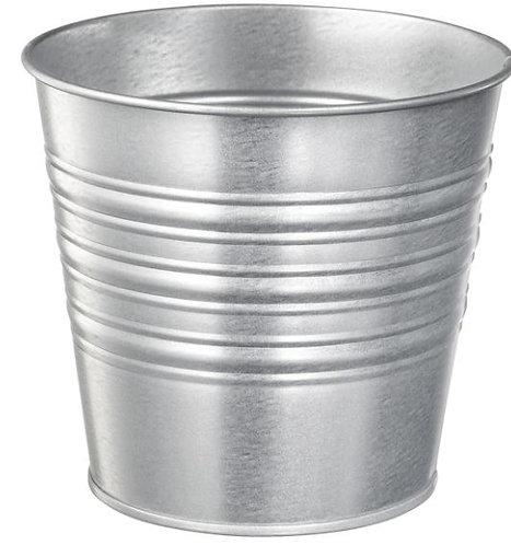 SOCKER Plant pot, utensil holder, Silver – IKEA