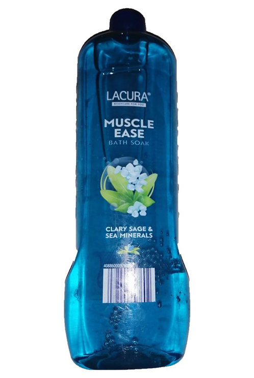 Bath Soak 750ml, Muscle Ease Clary Sage & Sea Minerals – Lacura