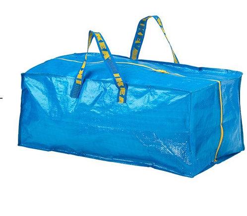 FRAKTA Trunk for Trolley, Blue, 76 l - Ikea