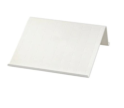 ISBERGET Tablet stand White 25×25 cm – IKEA