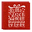 Thumbnail: 8-Pack Red Glitter Jolly Luxury Christmas Cards, Winterworks