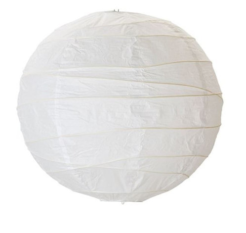 REGOLIT Pendant lamp shade, white – IKEA