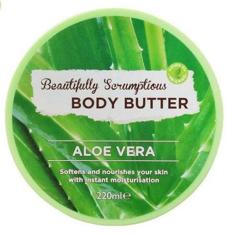 Body Butter Aloe Vera 220ml – Beautifully Scrumptious