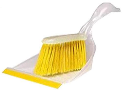 BLASKA Dust pan and brush, Yellow – IKEA