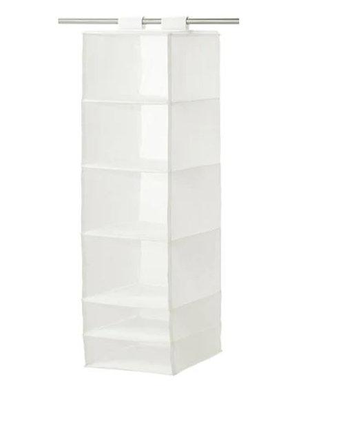 SKUBB 6 Compartments Storage, White – IKEA