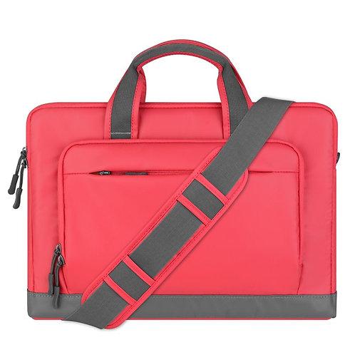 Pink and Grey Executive Laptop Shoulder Bag – Cartinoe