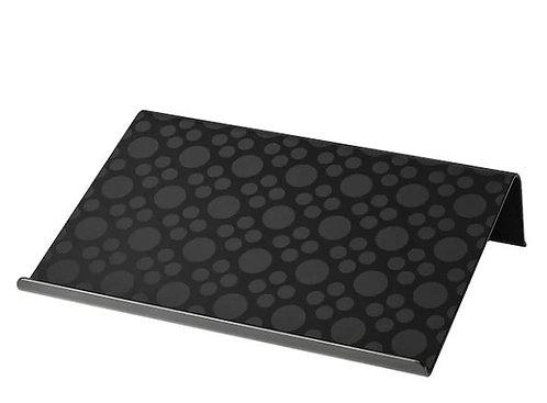 BRÄDA Laptop support, black, 42x31 cm by Ikea